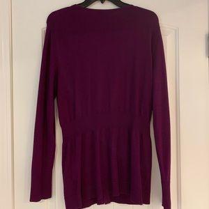 White House Black Market Sweaters - White House Black Market zip up cardigan